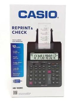 CALCULADORA CASIO HR-100RC C/ IMPRESSAO - ROLETE