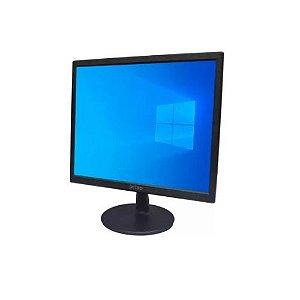 """MONITOR PCTOP 17"""" - MLP170 HDMI E VGA  - 0081817-01"""