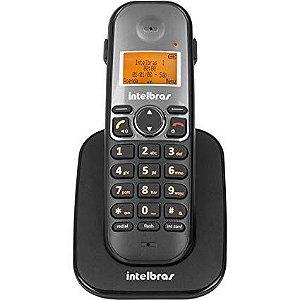 TELEFONE SEM FIO TS 3111 PT RAMAL - INTELBRAS