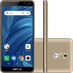 SMARTPHONE POSITIVO TWIST 2 AURORA - TELA 5,3 / 16GB MEMÓRIA INTERNA / ANDROID PIE GO / CAPA / PEL. - POSITIVO
