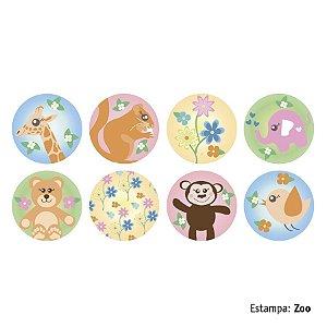 Adesivo Decorativo Aroeira Gloo Zoo