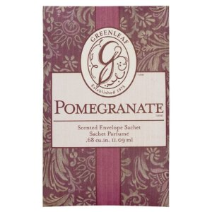 Sachê Odorizante Greenleaf Small/Pq Pomegranate