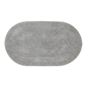 Tapete Aroeira Double - Gray 45X60cm Oval