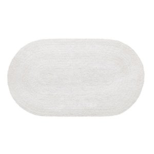 Tapete Aroeira Double - White 50X80cm Oval