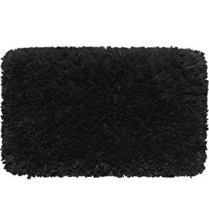 Tapete Aroeira Stilo - Negro - 100X150cm  Retangular Gigante
