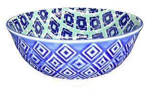 Bowl Geometrico Azul