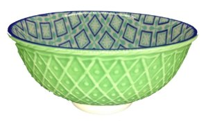 Bowl Verde Seladon e Azul