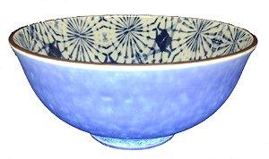 Bowl Azul e Branco -  Tie Dye