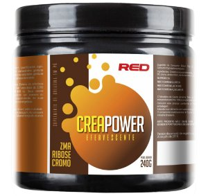 Creapower Creatina Efervescente 240g - Red Series
