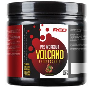 Pre Workout Volcano Efervescente 300g - Red Series