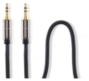 Cabo Audio C/ Nylon 3,5mm M/m 1,8m Multilaser - WI285