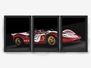 Kit Quadros Ferrari de Corrida