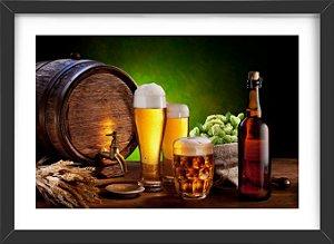 Quadro Cerveja Barril