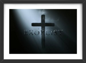 Quadro Exorcista Cartaz