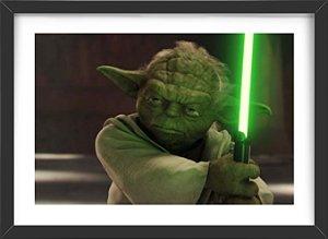 Quadro Mestre Yoda