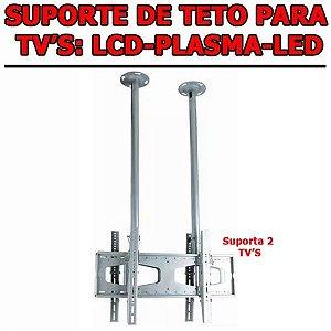 Suporte De Teto Tv / Monitor Lcd Led 3d 30 A 63