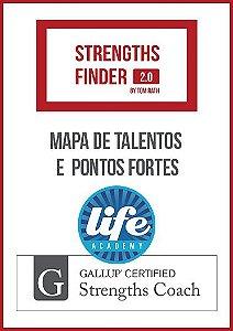 MAPA DE TALENTOS E PONTOS FORTES  [LIFE ACADEMY - GALLUP STRENGHTSFINDER]