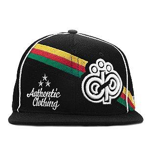 Boné Drump Snapback Aba Reta Reggae - Cap Original