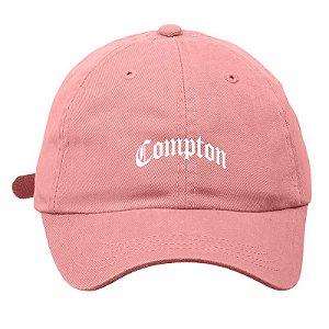 Boné Drump aba curva COMPTON Rosa - Cap Original