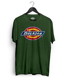Camiseta Dickies Logo Verde