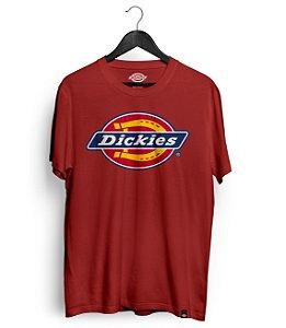 Camiseta Dickies Logo Vermelha