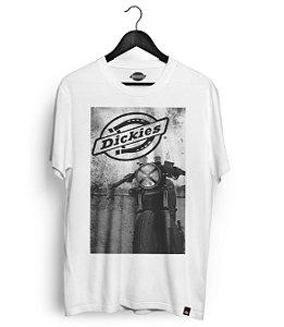 Camiseta Dickies Moto Branca