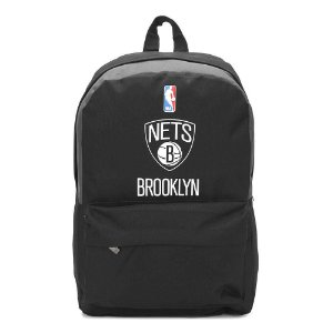 Mochila Nba Brooklyn Nets Preta