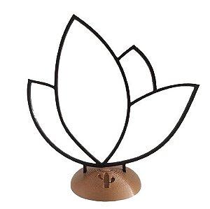 Flor de lotus minimalista