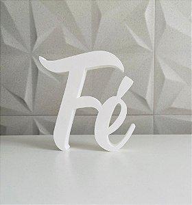 Palavra Fé impressão 3D