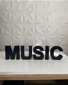 Palavra Music decor