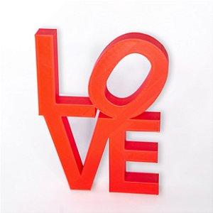 Palavra Love em pé impressão 3D
