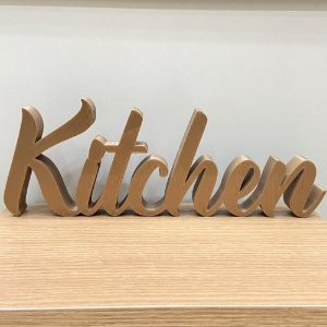 Palavra Decorativa Kitchen