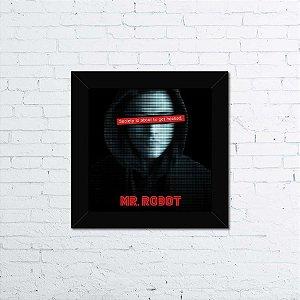 Quadro Mr. Robot Society is Hacked