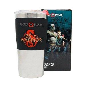 Copo de viagem God Of War Be a Warrior