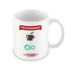 Caneca Programmer coffee code