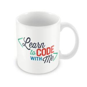 Caneca Learn code with Me