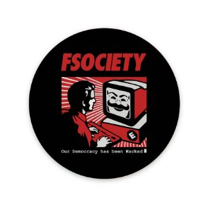 Mouse Pad FSociety Mr. Robot