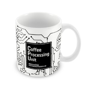 Caneca CPU Coffee Processing Unit
