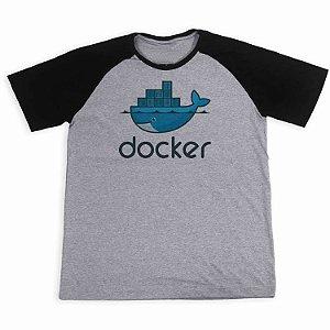 Camisa Raglan Docker