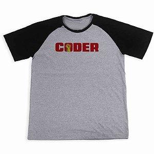 Camisa Raglan Coder