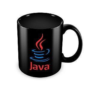 Caneca Java Preta