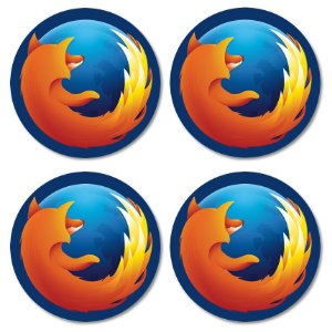 Kit porta-copos Firefox