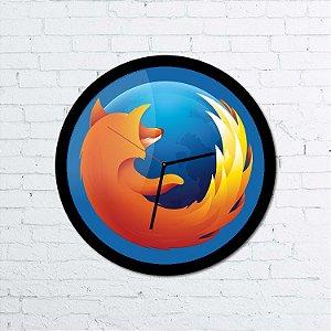 Relógio de parede Firefox