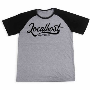 Camisa Raglan Localhost