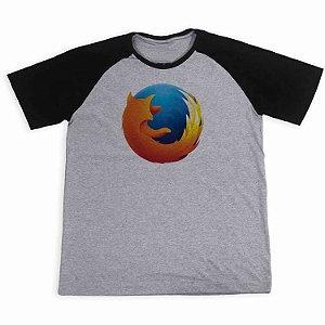 Camisa Raglan Firefox