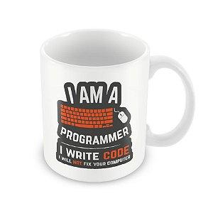 Caneca I am a Programmer