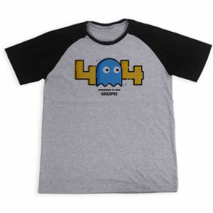 Camisa Raglan Erro 404