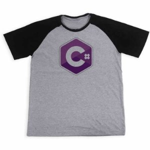 Camisa Raglan Linguagem de programação C#