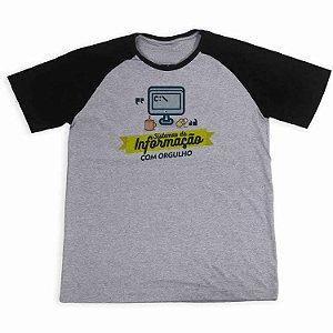 Camisa Raglan Sistemas da Informação