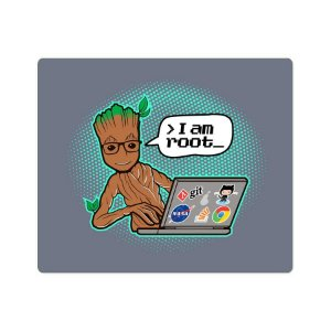 Mouse Pad I am Root iPear